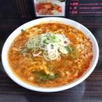 109016518 - カレータンタン麺(780円)+チーズ(100円)