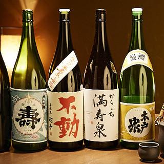 季節の日本酒など、種類豊富なドリンクからお選びいただけます!