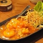 サイゴンカフェ 伊勢店 - ぷりぷり海老チリ