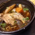 札幌ドミニカ - オリジナルスープのチキンカリーの3辛