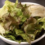 札幌ドミニカ - セルフサービスのサラダ