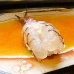 福寿司 - さっきまで泳いでた海老