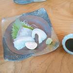Hicos - お刺身 三種類