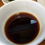 UMAMI SOUP Noodles 虹ソラ - ザルのタレ(コーヒーじゃないよ)