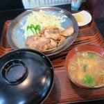 一福亭 - 焼肉定食 大(¥1,000)
