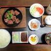 Kaributei - 料理写真:飛騨牛A5等級鉄板焼き定食 プレミアムランチ 1,580円(税込)。     2019.06.02
