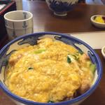 ひさご - トロトロかき混ぜ系の親子丼です!お味噌汁は付いてません!