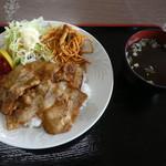 安楽食堂 - 焼肉ライス500円