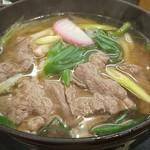 さぬきうどん 四国屋 - 黒毛和牛うどん810円?