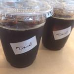 テラス ダニエル - ドリンク写真:アイスコーヒー