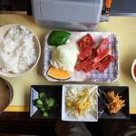 焼肉なかごし - 料理写真:上カルビ定食