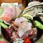 磯料理 光力 - 「海鮮丼(限定5食)」@1050