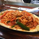 ゴンベ - スパゲティ