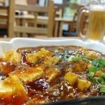 蜀郷閣 - 麻婆豆腐からスタート。