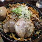 平太周 味庵 - 爆盛油脂麺…400g