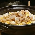 109048350 - 御食事:アオリイカととうもろこしの土鍋ご飯