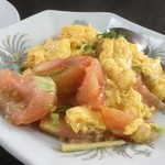 異風園 - トマトと卵の炒め物