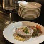 フランス酒場Teuf - 豚肉のテリーヌ