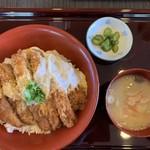 かつふじ - 料理写真:カツ丼 梅