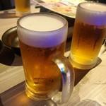 完全個室居酒屋 星夜の宴 - 乾杯は生ビール