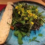 水のや - 前菜のサラダ
