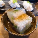 鮨と日本酒 蔵よし - お通し