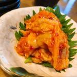 鮨と日本酒 蔵よし - エンガワユッケ