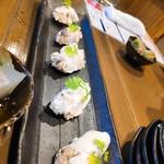 鮨と日本酒 蔵よし - いぶりがっこチーズ