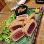 鮨と日本酒 蔵よし - マグロのレアかつ