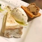 ビストロ felice - 3種の前菜(こだわりチーズのサラダ)