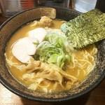 らーめん虎珀 - 料理写真:濃厚鶏そば・醤油(大盛り)