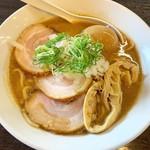 109057831 - 味玉ちゃーしゅーめん 1250円                       (魚介豚骨)