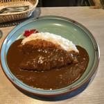 マルパソ - チキンカツカレー730円