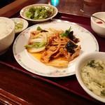 チャイナRai 中国料理 - 豚ロース豆板醤 オイスター炒め