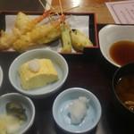 魚河岸料理ざこば - 天ぷら定食