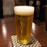 モダンバル餐仕 - 生ビール