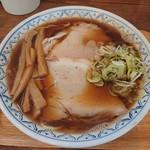 麺屋 とろも - 料理写真:鶏煮干しラーメン 大 700円(税込)