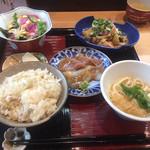 高麗橋桜花 - お料理