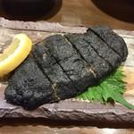 ぱやお - ミヌダルって真っ黒ですが美味しいです