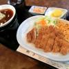 とんかつ椰子 - 料理写真:和風ロースとんかつ定食