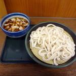 10907440 - 肉ネギ汁うどん580円(2011.12彩花庵時代)