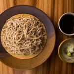 酒と蕎麦 まき野 - 料理写真:ざるそば