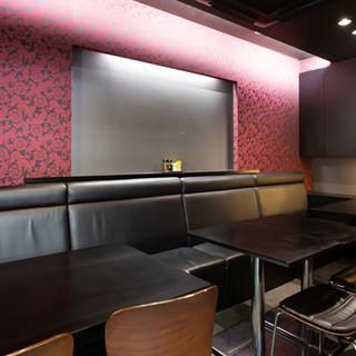 店舗奥の個室は5人~15人で利用可◆事前にご予約ください!