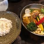 Rojiurakarisamurai - チキンと1日分の野菜20品目 ライスSS