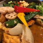 Rojiurakarisamurai - チキンと1日分の野菜20品目