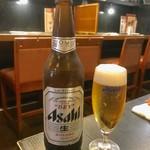 九州亭 - お洒落なグラスで登場