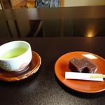 旅亭 田乃倉 - 料理写真:自家製羊羹