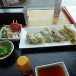 そら - 料理写真:椎茸餃子