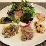 イル バンビーノ奥沢 - 前菜5種