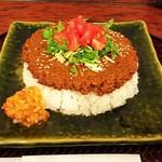 109085174 - 鳥挽肉ドライカレー(¥900)